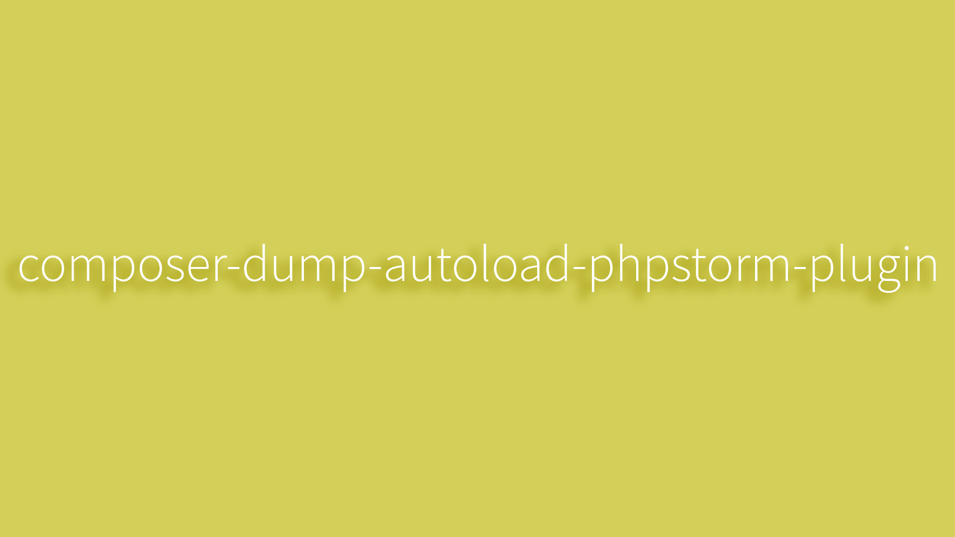 composer-dump-autoload-phpstorm-plugin
