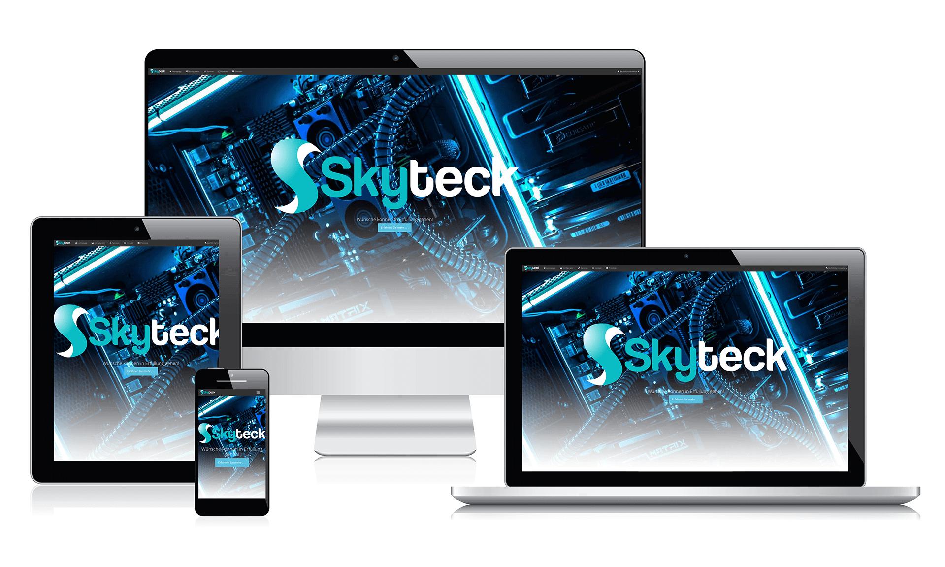 SkyTeck Homepage